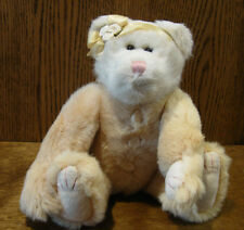 """Boyds Plush #91891-12 GLENDINA, 10"""" NEW/Tag From Retail Store, Jointed Bear"""