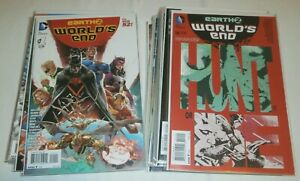 Earth 2: World's End #1-26 100% complete full run set Justice Society Darkseid