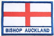 Bishop Auckland England Town & City Embroidered Sew on Patch Badge