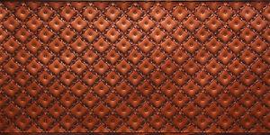 Faux Tin PVC Backsplash Roll - DYI - WC90 - Antique Copper - Glue-up Backsplash