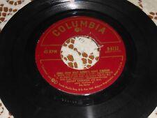 SONGS FROM WALT DISNEY'S MAGIC KINGDOM 45RPM COLUMBIA B-6722 JOHNNY ANDERSON