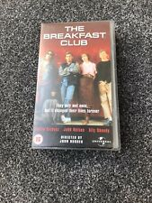 The Breakfast Club VHS Video 1985 Comedy Drama