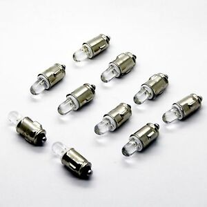 10x oder 1x LED BA7S 12V weiß Tacho Instrumenten Beleuchtung Licht Lampe Sockel