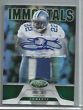 Emmitt Smith 2011 Certified Mirror Emerald Autograph Game Used Jersey Patch #2/5