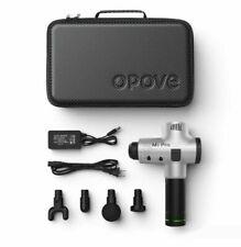 Opove M3 Pro Deep Tissue Percussion Electric Massager Gun - Silver