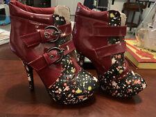 high heel boots size 8
