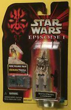 Battle Droid slash .00 FIRST RELEASE Star Wars Episode 1 3.75 Figure Hasbro 1999