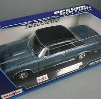 Maisto 1965 Pontiac GTO Special Edition Diecast Collectible Model Car 1:18 Scale