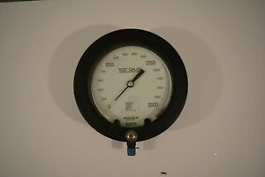 NEW ASHCROFT 3000 PSI TYPE 1082 TEST GAUGE