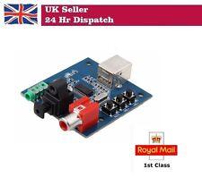 Pcm2704 USB DAC a S/PDIF SCHEDA AUDIO decodificatore AUDIO BOARD 3.5mm uscita analogica