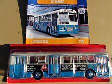 n° 59 PEGASO 6035 EMT  Autobus et Autocar du Monde année 1972 1/43 Neuf Boite