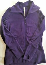LULULEMON IN STRIDE Jacket Purple size 4 Gym Yoga  Run Dance Everyday Fun