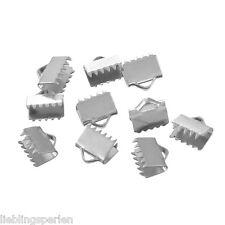 1 Edelstahl Magnetverschluss Bajonettverschluss Silberfarbe 19x9mm L//P
