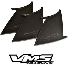 3 THREE VMS RACING REAR WING SPOILER SUPPORT STABILIZER for 11-14 SUBARU WRX STI