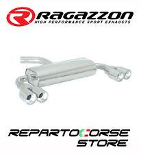 RAGAZZON SCARICO SDOPPIATO TERMINALI TONDI 2/2x80MM AUDI A3 8P 2.0TDi 136-140CV