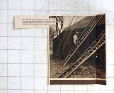 1937 Mr Samuel Hook Of Scottow Norwich Makes 250 Ladders A Year, One Armed