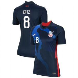2020 Julie Ertz #8 USA WOMENS Blue 4 Star Soccer Jersey, Olympics