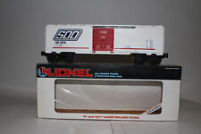 LIONEL #6-19210 SOO LINE BOXCAR, WHITE, EXCELLENT, BOXED