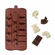 Silicone Toys Chocolate Mould Tray Bakeware Ice Cube Cake Decorating Jelly Mold