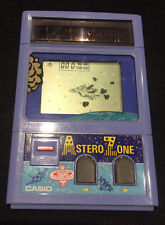 "Lcd Game Casio CG-31 ""Astero Zone"" 1983 vintage made in Japan"