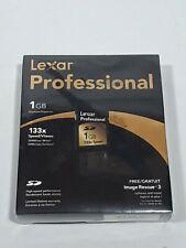 1GB Compact Flash CF Memory Card Lexar 133 x speed New