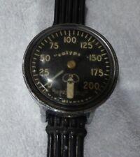 Vintage Us divers calypso Aqualung circa 1960 Broxton 200 dive pressure guage