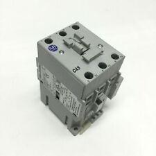 Allen Bradley 100-C43E*00 Contactor 75A, 3-Pole, 24VDC Coil, w/ Auxiliary 100-S