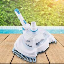 Pool Reinigung Pflege Vakuum Sauger Pool Schwimmbecken Bürsten Saugkopf Werkzeug