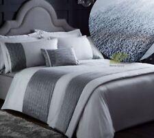 Lenzuola e biancheria da letto astratte in argento