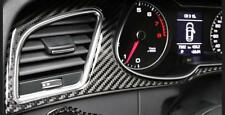 Carbon Fiber Dashboard Instrument Panel Cluster Meter Trim For Audi A5 S5 A25