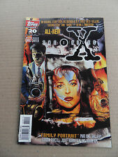 X-Files , The (TV) 20 . Topps 1996 - VF