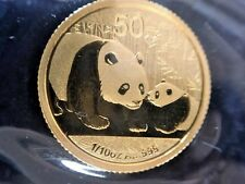 2011 Chinese Panda 1/10oz. Gold Coin in Original Mint Packaging