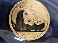 2011 China Panda 1/10oz. Gold Coin, FREE SHIPPING!!