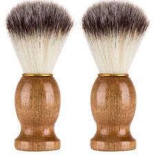 1PC Men Shaving Bear Brush Best Badger Hair Shave Wood Handle Razor Barber Tool