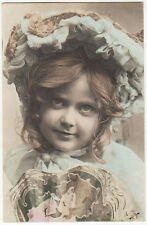 Girl Offers A Low 39% Interest Rate On Her Loans Original Antique Photo Postcard