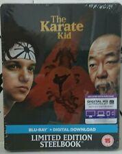 THE KARATE KID (1984) (LTD Edition UK Steelbook, Blu Ray, New, Sealed, Rare)