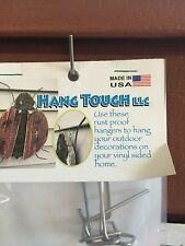 Hang Tough, Vinyl Siding Hanger/Hook.    No holes to be put in your siding.