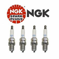 Set of 4 Pre-Gapped Spark Plugs NGK Standard Resistor OEM Performance Power 5553