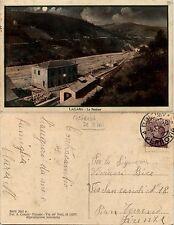 Lagaro, Castiglion de Pepoli, La stazione, viaggiata 1928