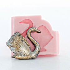 Silicone Swan Mold Jewelry Resin Polymer Epoxy Clay Mold Food Safe Mold (852)