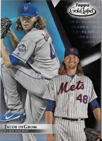 Jacob deGrom 2018 Topps Gold Label Class 2 Black Parallel Mets #63