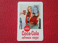 CALENDARIO DE BOLSILLO FOURNIER 1966 COCA COLA COCACOLA REFRESCA MEJOR CALENDAR.