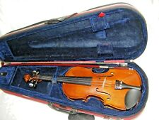 STENTOR STUDENT II 1/2 VIOLIN WITH CASE AND BOW LOVELY CONDITION