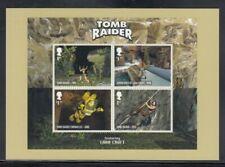 Great Britain Tomb Raider Video Games Royal Mail Stamp Card