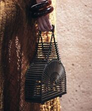 Cult Gaia Cupola Bag in TeaK Bamboo - Brand New
