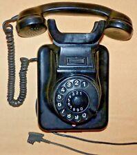 Post-Telefon-W49 altes Bakelit Wand-Telefon, Antik ! ORIGINAL 1962 !!