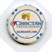 1.00 Casino Chip from the Choctaw Casino Durant Oklahoma Go
