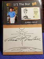 """2019 The Bar Robert Mccall """"The Equalizer"""" Autographed Nasa Sketch Card Jsa"""