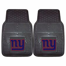 New York Giants 2-Piece Heavy Duty Vinyl Auto Floor Mats
