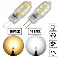 G4 LED Light Bulb 2W (20W Equivalent) AC/DC 12Volt Bi Pin Base Lamps 10/20-Pack